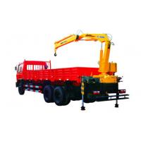 Wholesale Durable 4 Ton Mobile Knuckle Boom Truck Mounted Crane For Construction from china suppliers