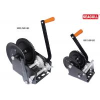 Wholesale Windlass Hand Lifting Winch Steel Manual Hand Winch With Single Double Speed from china suppliers