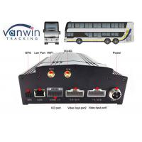 Wholesale 4 Channel / 8 Channel Mobile DVR Built-In 3G / 4G / WIFI / G-Sensor DVR Security from china suppliers