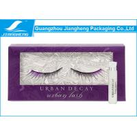 Wholesale Rectangle Eyelash Packaging Gift Box PVC Window Rigid Paper Material from china suppliers