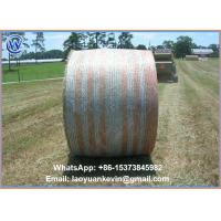 Wholesale Hot Selling 100% HDPE 8.33gsm 1.62 x 2134m Straw hay bale net wrap with high quality from china suppliers
