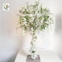 Wholesale UVG 4ft Tall Wedding Centerpieces for Tables Wisteria and Cherry Blossom Artificial from china suppliers