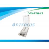 Waterproof FTTH Mini Optical Fiber Termination Box 12 Outlet Pigtail