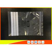 Wholesale Customized Polyethylene Industrial Ziplock Bags , PE Zip Bags With Great Clarity from china suppliers