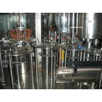 Wholesale Concentrated Juice Hot Filling Machine SUS304 Material , 6000BPH Pet Bottle 3-in-1 Filling Machine from china suppliers