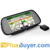 "Wholesale 7"" Touchscreen Rearview Mirror Monitor with GPS Navigator and FM Transmitter from china suppliers"