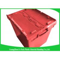 Wholesale 50kgs Security Moving Plastic Attached Lid Containers easy to clean from china suppliers