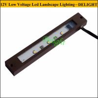 Wholesale 12V led Rail Stone Cap light 6 inch LED Hardscape Light LED under deck light from china suppliers