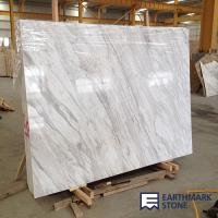 Wholesale Original Quarry Volakas White Marble Slab from china suppliers