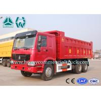 Wholesale High Power Howo 8X4 Mining Dump Truck With Hydraulic Lifting Mechanism 40Tons from china suppliers
