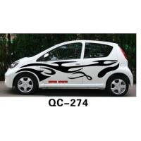 Wholesale Custom Decorative Car Body Sticker QC-274M / Car Decoration from china suppliers