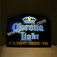 Wholesale Corona Beer Bar Sign with Moved Message from china suppliers
