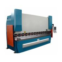 Wholesale Automatic CNC hydraulic press brake bending machine for Pipe and tube 1250KN from china suppliers