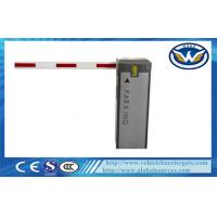 Wholesale 6m Straight Arm Vehicle Barrier Gate , Traffic Arm Barriers Customized from china suppliers