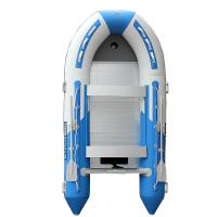 Wholesale Durable Siliver 8 Person PVC Inflatable Boat With Ce UL Certificated from china suppliers