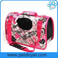 Wholesale Hot dog carrier bag Large expandable space pet bag outdoor travel dog carrier bag from china suppliers