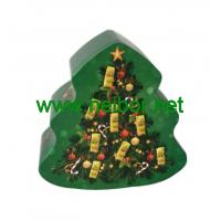 Wholesale custom printing christmas tree shape chocolate tin box from china suppliers