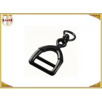 Wholesale Zinc Alloy Metal Shoe Buckles Clips With D Ring Custom Black Color from china suppliers