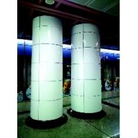 Wholesale Aluminum single-layer curved panel column cladding from china suppliers
