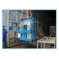 Wholesale Dual Mast Mobile Elevating Work Platform For 2 Persons 8 Meter Platform Height from china suppliers
