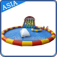 Wholesale Moving Water Park , Inflatable Water Park , Inflatable Amusement Park from china suppliers