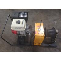 Wholesale Petrol Engine Powered 5 ton winch machine / gasoline powered winch from china suppliers