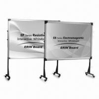 Wholesale Eco-friendly Electromagnetic Whiteboard with 350mm Working Distance and Fluent Writing from china suppliers