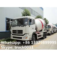 Wholesale best quality factory sale 6*4 Dongfeng 12 cubic meters concrete mixer truck, dongfeng dalishen 12m3 concrete mixer truck from china suppliers