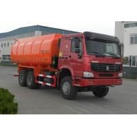 Wholesale Garbage Dump Truck With Self - Discharging Cargo Box;6x4,22 m³,Red Color,336hp from china suppliers