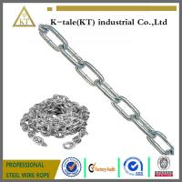 Wholesale Stronger specilization manufacturer industrial welded steel chain from china suppliers