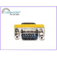Wholesale Cableader Mini VGA SVGA Gender Changer DB15M - DB15M with silver color from china suppliers