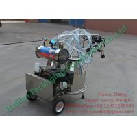 Wholesale Stainless Steel Gasoline Type Mobile Milking Machines for Dairy Farms from china suppliers