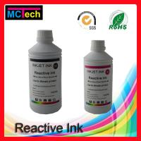 Wholesale Waterproof! reactive dye ink for digital textile printing for Textile Printer Roland/Mutoh/Mimaki printers from china suppliers