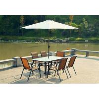 Wholesale 2.75M Family Outdoor Wooden Sunbrella Patio Umbrellas With Table And Chairs from china suppliers