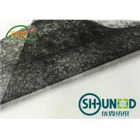 Wholesale Black Fusible Fleece Interfacing , Bonding Fabrics Fusible Webbing from china suppliers