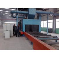 Wholesale H Beam Steel Auto Shot Blasting Machine 3000MM Effective Cleaning Width from china suppliers