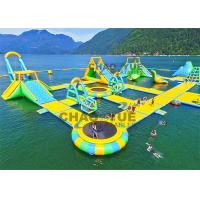 Wholesale Sea Field Giant 0.9mm PVC Inflatable Floating Water Park With CE Air Pump from china suppliers