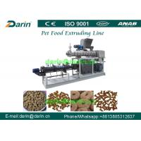 Wholesale Automatic Stainless Steel Pet Cat / Fish Feed Pellet Production Line from china suppliers