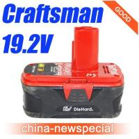 Wholesale Craftsman Diehard 19.2V Li-Ion Battery 19.2Volt power tool battery 130285003 from china suppliers
