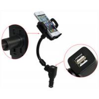 Wholesale Dual USB Port Charger Car Phone Holder from china suppliers