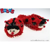 Wholesale Soft Girl Indoor Slipper Red Ladybug Home Slippers from china suppliers