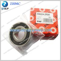 Wholesale FAG SS6204.2RSR 20X47X14 Mm Stainless Steel Deep Groove Ball Bearing from china suppliers