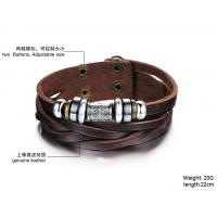 Wholesale 2014 Wholesale fashion jewelry leather braclet hot sales factory priceBR37 from china suppliers