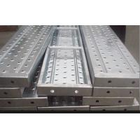 Wholesale Recycled aluminum scaffold plank / platforms 2.4/1.8/1.2/0.73M*230*63*1.8mm from china suppliers