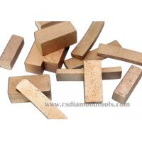Buy cheap diamond segments for marble from wholesalers