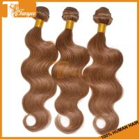 Wholesale Grade 5A Color#8 Brazilian Hair Weave Blonde And Brown Body Wave Blonde Virgin Hair Blonde from china suppliers