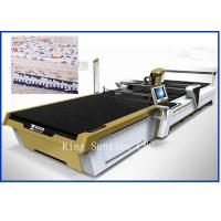 Wholesale Continuous Up - Down Cutting Style Not Laser Cloth Cutting Machine 5000kg from china suppliers