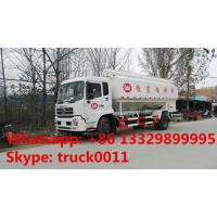 Buy cheap 2018s good price hydraulic system bulk feed delivery truck for sale, 20cbm poultry feed body mounted on truck for sale from wholesalers