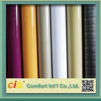 Wholesale Anti Scratch Rigid PVC Transparent Film for Covers / Shower Curtain 0.10mm - 0.50mm from china suppliers