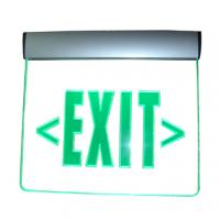 Wholesale Led edge lit emergency exit sign from china suppliers
